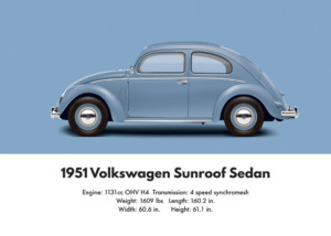 1951 VW Beetle Split Window specifications | Aircooled Community