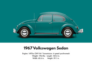 1967 VW Beetle specifications and technical details | Aircooled