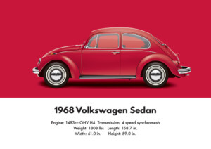 1968 VW Beetle specifications and technical details | Aircooled