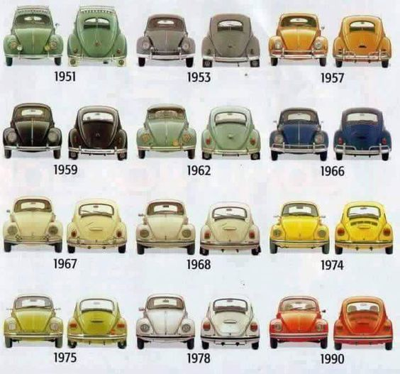 vw beetle models