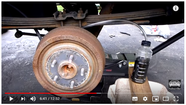 How To Bleed Brakes >> How To Bleed Drum Brakes Yourself Video Tutorial