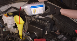 How to add transmission fluid