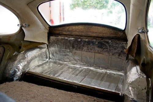 How To Install Sound Deadening Insulation Aircooled Community